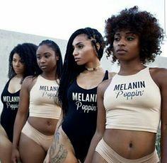 Black girls rock sprinkle some melanin magic on that x✌instagram; @_pris.a
