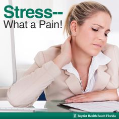 Learn about the link between #pain and #stress. | #Wellness