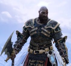 A showcase with pictures of all God of War Armor Sets and Outfits. View every armor in the GOW with image gallery and stats. Fantasy Armor, Dark Fantasy, Video Game Art, Video Games, Elmo, World Serpent, War Belt, Kratos God Of War, Epic Characters