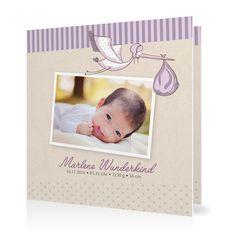 Geburtskarte Ein Bündel voll Glück in Blauviolett - Klappkarte quadratisch #Geburt #Geburtskarten #Mädchen #elegant #Foto #kreativ #vintage https://www.goldbek.de/geburt/geburtskarten/maedchen/geburtskarte-ein-buendel-voll-glueck?color=blauviolett&design=9a2e9&utm_campaign=autoproducts