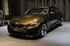 BMW M4 Coupe Pyrite Brown Edition