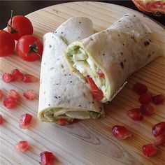My Casual Brunch: Wrap de guacamole e queijo fresco