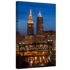 'Cleveland 14' by Cody York Photographic Print on Wrapped Canvas