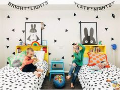 The Coolest Shared Rooms for Boys http://petitandsmall.com/coolest-shared-rooms-boys/
