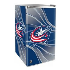 Use this Exclusive coupon code: PINFIVE to receive an additional 5% off the Columbus Blue Jackets Primary Counter Height Refrigerator a SportsFansPlus.com