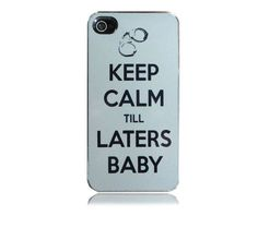 50 shades of grey!Fifty shades of grey! Laters baby! Love this Personalized iPhone 4 Case! Great site toO!