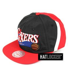 sports shoes b61bc 4f8ba Hat Locker    Mitchell   Ness Philadelphia 76ers Anorak Snapback     54.95  plus free