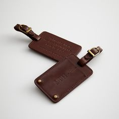 Farm-Animals-cow Leather Luggage Tags Personalized Travel Accessories With Adjustable Strap