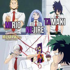 My Hero Academia Memes Boku No Hero Academia Funny, My Hero Academia Episodes, My Hero Academia Shouto, Hero Academia Characters, Anime Meme, Funny Anime Pics, Otaku Anime, Manga Anime, Hero Wallpaper