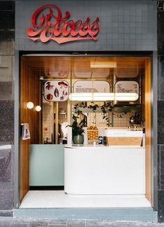 Recess on Sans Arc Cafe Shop Design, Kiosk Design, Cafe Interior Design, Signage Design, Retail Design, Store Design, Showroom, Milk Shop, Food Stall