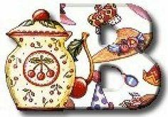 Alphabet Teapot - Letter B