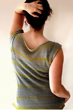 Ravelry: Otherside pattern by Melanie Berg - knit with Shibui Linen yarn, available at www.agoodyarnsarasota.com.