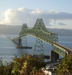 The mouth of the Columbia River in Astoria - 6.6km!