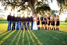 Bare foot Blue Jean wedding night ! :) how cute would this be for a wedding