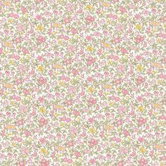Liberty of London Tana Lawn: Chamomile Lawn (B) Hello Kitty Iphone Wallpaper, Wallpaper Iphone Cute, Liberty Of London Fabric, Liberty Fabric, Cute Patterns Wallpaper, Print Wallpaper, Textures Patterns, Print Patterns, Floral Patterns
