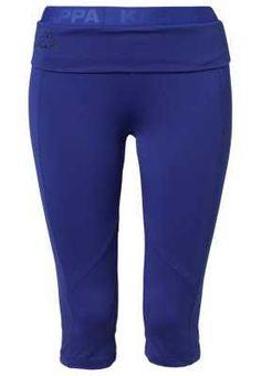 Acquista Kappa NONA Pantaloncini 3 4 blu Donna -