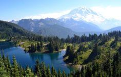 Tolmie Peak Trail, Mount Rainier National Park, Ashford, WA