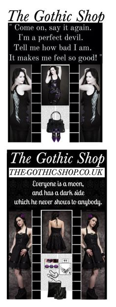 """The Gothic Shop"" by irresistible-livingdeadgirl ❤ liked on Polyvore featuring TheGothicShop, Oris, Pierre Hardy, purple, emo, goth, gothic, beautyset, art and corset"