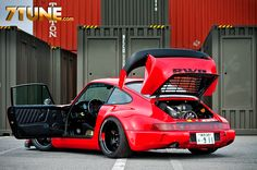 love the stance - not the tail #rwb #porsche
