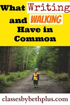 What Writing and Walking Have in Common The Ultimate Pinterest Party, Week 90