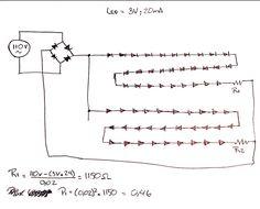 Resultado de imagen para FORMULA PARA CALCULAR CIRCUITOS LEDS