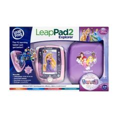 Leapfrog Leappad2 Explorer, Disney Princess Edition. Includes Tablet, Case, 5 Apps and 2 Sticker Sheets by Leapfrog. $176.00. Parents can connect to the free, online Learning Path to see child?s learning progress, share achievements and artwork with family and friends. Draws from more than 2500 skills in subjects like reading, art, music, language and culture, science, geography, mathematics, health and more. Comes with a 4 MB memory, Front and back Cameras, 5 free ap...