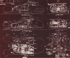 Exact blueprints of the Blade Runner police spinner were drawn by art director David Snyder before attempting to build the flying vehicle. Best Sci Fi Movie, Sci Fi Movies, Blade Runner Wallpaper, Blade Runner Spinner, Hover Car, Flying Vehicles, Blade Runner 2049, Deconstruction, Retro Futurism