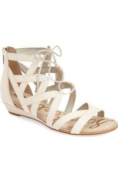 Sam Edelman 'Dawson' Ghillie Sandal (Women) available at #Nordstrom $99.95 free shipping