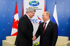 The frosty Harper-Putin relationship: Tales from Vladivostok « David Akin's On the Hill