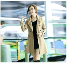 Women winter jacket coat double breasted stand collar by Lixmee, $99.90