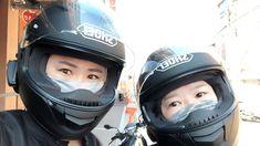 김윤주さんはInstagramを利用しています:「쇼에이커플😖 . . . #주말#낮바리#쇼에이#헬멧#커플」