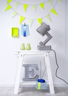 It all started back in the when neon design was very popular in interior design. Nowadays neon style is back, mixed with different styles - from Beautiful Interior Design, Interior Design Inspiration, Color Inspiration, Design Ideas, Home Design, Neon Colors, Colours, Neon Design, Home And Deco