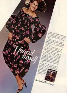 1977 Fashion, Mccalls Patterns, Dresses With Sleeves, Fancy, Simple, Long Sleeve, Casual, Beauty