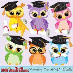 Graduando Owls clipart