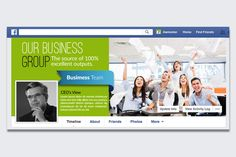 Corporate Facebook Timeline Cover  by Business Flyers on @creativemarket