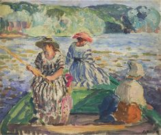 Joseph Henri Baptiste Lebasque was an French painter, known for working in the post-impressionist style. Henri Lebasque was born on September in Champigné, France. For biographical notes -in english and italian- by Henri see: Henri Lebasque Impressionist Artists, Post Impressionism, Henri Matisse, French Artists, Famous Artists, Traditional Art, Art Reproductions, Canvas Art Prints, Landscape Paintings