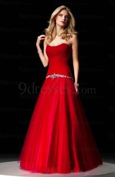 modest strapless sleeveless A-line floor length backless prom dress