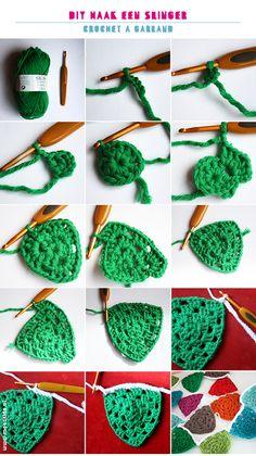 haak een slinger, gratis haakpatroon voor een slinger | moodkids