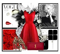 """""""I Win Again"""" by guruhunter ❤ liked on Polyvore featuring Chanel, Christian Louboutin and Yves Saint Laurent"""
