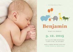 Benjamin's Dream - Birth Announcements
