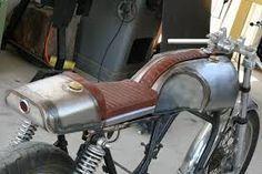 Image result for cafe racer tank strap