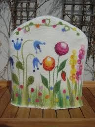 Image result for fairytale house wet felted tea cosies