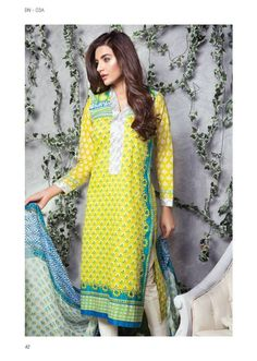 """Few hours a gone one in every of ladies fashion wear complete Satrangi by Bonanza has launched its summer prêt Lawn 2015 with the title of  """"Fancy Lawn Dresses Satrangi by Bonanza 2015""""."""