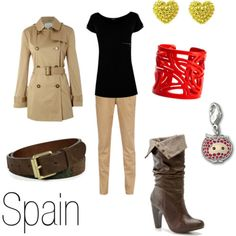 Spain character inspired fashion.