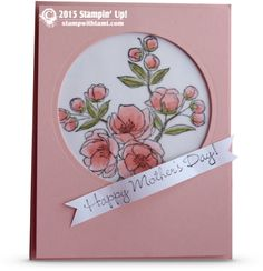 stampin up Happy Mother's Day from Indescribable Gift