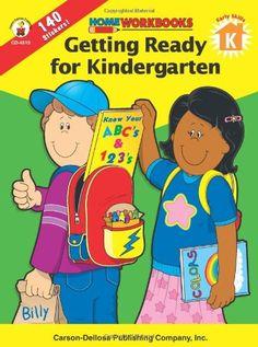 math worksheet : preschool  kindergarten skills grades pk  k home workbooks by  : Getting Ready For Kindergarten Worksheets