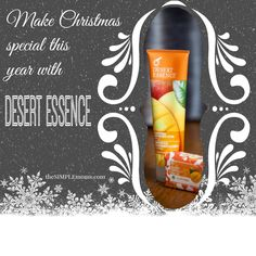 #aSIMPLEChristmas :: give the gift of luxury with desert essence :: review + giveaway