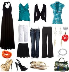 """""""black and blue capsule"""" by empressm on Polyvore"""
