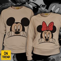 Mickey sweatshirt,disney couple sweatshirt,family style, disney sweatshirt, cotton clothes,russian clothing,mickey and minnie by ONTRENDclothes on Etsy https://www.etsy.com/listing/270777629/mickey-sweatshirtdisney-couple