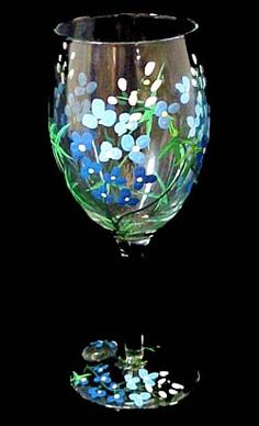 hand painted wine glasses ideas - Bing Images